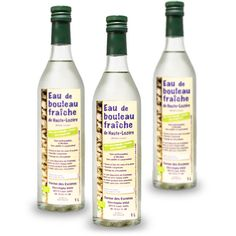 Sève de Bouleau fraîche de Lozère - eau de Bouleau - Christophe Vidal - BienManger.com