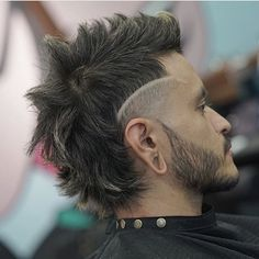 50 Punk Hairstyles for Guys to Keep It Alive! - Men Hairstyles World Mullet Fade, Short Mullet, Modern Mullet, Mullet Haircut, Mullet Hairstyle, Fade Haircut, Men's Hairstyle, Mohawk Hairstyles Men, Haircuts For Men
