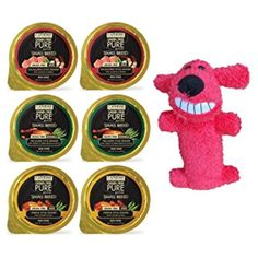 Canidae Pure Petite Small Breed Dog Food 3 Flavor Variety 6 Can Bundle with Toy: (2) Escalloped Salmon & Shrimp, (2) Terrine Chicken & Peas, (2) Fricassee Turkey & Green Beans, 3.5 Oz Ea (6 Tot) @@ You can read more reviews of the product by visiting the link on the image. (This is an affiliate link and I receive a commission for the sales)