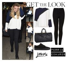 """""""Perrie Edwards Little Mix At The Hotel In Brighton March 14, 2016"""" by valensmilerstyle ❤ liked on Polyvore featuring Topshop, Louis Vuitton, Vans and CO"""