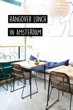 """Hungover but still want to go for lunch? On travel blog http://www.yourlittleblackbook.me there's a list with the best hotspots and cafes to enjoy lunch! Planning a trip to Amsterdam? Check http://www.yourlittleblackbook.me/ & download """"The Amsterdam City Guide app"""" for Android & iOs with over 550 hotspots: https://itunes.apple.com/us/app/amsterdam-cityguide-yourlbb/id1066913884?mt=8 or https://play.google.com/store/apps/details?id=com.app.r3914JB"""