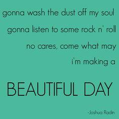 Beautiful Day - Joshua Radin