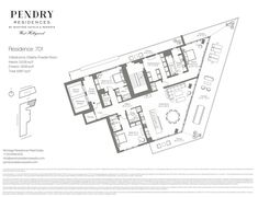 Property Details Of New Luxury Residences On The Sunset Strip - Pendry Residences