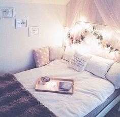 Simple and classy girls room