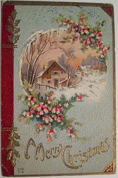 Vintage Christmas Postcard | Flickr - Photo Sharing!