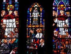 St Yves, église de Belle-Isle-en-Terre (22), vitrail d'Erault.