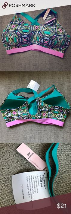 BNWT VSX Victoria's Secret Lightweight Sports Bra New with tags!  Built in support and no underwire Victoria's Secret Intimates & Sleepwear Bras