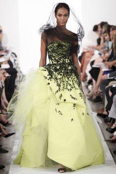 Sfilata Oscar de la Renta New York - Collezioni Primavera Estate 2014 - #Vogue #ss2014 #nyfw #OscardelaRenta