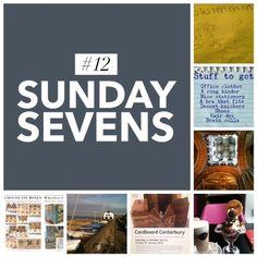 Mudlarks and Magpies: Sunday Sevens (number 12) #sundaysevens #woodburning #Canterbury #swimminglessons