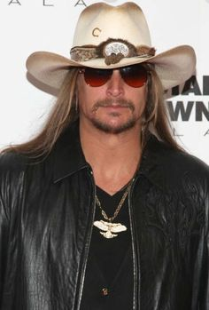 Kid Rock ~ saw him at the Great Jones County Fair on July 19, 2014......