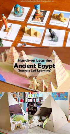 Suzie's Home Education Ideas: Hands-on Learning about Ancient Egypt