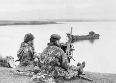 THE FALKLANDS CONFLICT, APRIL - JUNE 1982 - ROYAL MARINES COMMANDO, pin by Paolo Marzioli