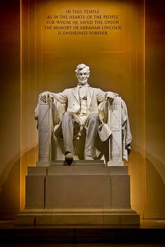 PROMPT: You get a writing job that requires you to go to Washington to research and write about the Lincoln Memorial. What happens in the process that effects you deeply in the end?