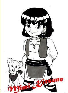 Mini Nadia et son lionceau