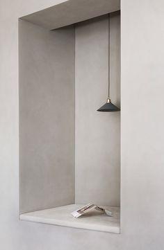 Norm Architects creates workspace for Kinfolk magazine in Copenhagen Home Interior, Interior Architecture, Interior And Exterior, Interior Decorating, Japanese Architecture, Zen Decorating, Modern Architecture House, Futuristic Architecture, Modern Houses