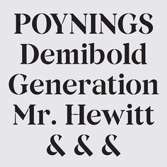 Bespoke typeface for Generation Press @generationpress with @build (2013)