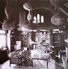 Ruth Asawa living room photo- imogen cunningham