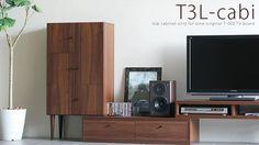 インテリアショップ arne interior / ローキャビネット T3L-cabi テレビ台 T-003 専用オプションパーツ[BRは次回入荷時期確認中]