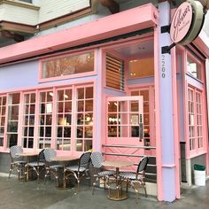 Glossier at Rhea's Cafe - Glossier has launched plenty of its own limited-time pop-up shops over time and its newest initiative is the Glossier at Rhea's Cafe takeover. Pop Up Cafe, Yandere, Glossier Pop Up, Glossier Instagram, San Francisco Cafe, Rosa Millennial, Pink Images, Green Marble, Pop Up Shops