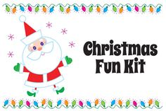 Christmas Fun Kit by steckfigures on Creative Market