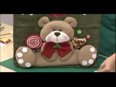 Clay Crafts, Christmas Crafts, Teddy Bear, Toys, Animals, Door Hangings, Diy Dog, Baby Dolls, Party