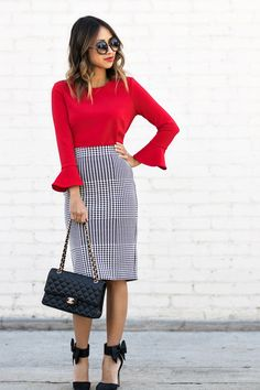 Women's Clothing Stores Galleria Dallas their Office Wear Tops Online & Women's Clothes In The Casual Office Wear 2019 Jw Fashion, Office Fashion, Work Fashion, Fashion Outfits, Womens Fashion, Petite Fashion, Style Fashion, Fashion Videos, Jean Outfits