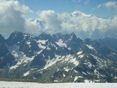 Le Buet  (Mont Blanc des Dames). We are here (july 2010)