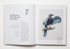 New Frontier Group - Corporate Publishing by moodley brand identity, via Behance