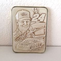 NASCAR Jeff Gordon Number 24 Racing 50th Anniversary Heavy Paperweight  #Nascar