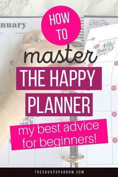 Planner Tips, Free Planner, Planner Layout, Budget Planner, Planner Pages, Printable Planner, Happy Planner Accessories, Discbound Planner, Planner Organization