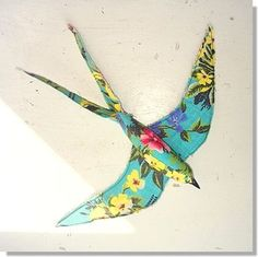 ~ Sparkle Eagle Bird Flying High Nature Hawk Hambly Studios Glitter Stickers ~