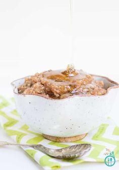 Gluten-Free Breakfast Quinoa with Cinnamon & Apples