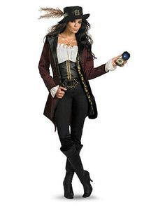 Prestige Pirates of the Caribbean Angelica Costume | Wholesale TV and Movie Womens Halloween
