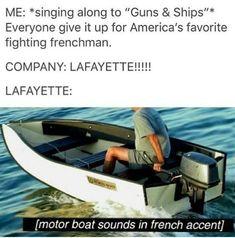 Hamilton musical funny meme Lafayette Guns and Ships rap Twerk Twerk, Hamilton Musical, Hamilton Broadway, Alexander Hamilton, Nerd, Fandoms, Comedia Musical, Hamilton Lin Manuel Miranda, Hamilton Fanart