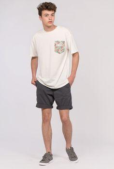 Bermuda jogging Kaotiko color gris marengo.
