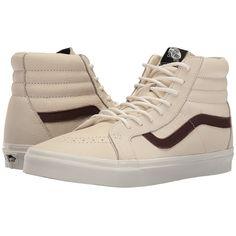 37d7e35bce Vans SK8-Hi Reissue ((Leather) Blanc De Blanc Potting Soil)
