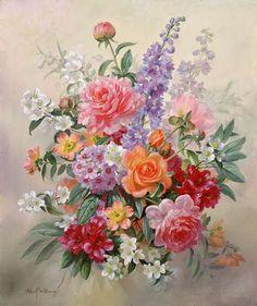 букет цветов - Схемы вышивки - 22nataliya - Авторы - Портал «Вышивка крестом»