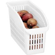 $3.73 ```Kitchen Details Easy Pull Pantry Organizer Basket, Slim