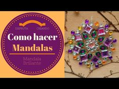 Tutorial en video con el paso a paso para hacer mandalas con CDs reciclados. Además vas a aprender a limpiar los CDs para que queden super transparentes y realizar todo tipo de manualidades. Necesitas CDs, pegamento transparente, plantilla de mandala Recycled Cds, Cd Crafts, Old Cds, Cd Art, Wire Jewelry, Decoupage, Things To Do, Recycling, Videos