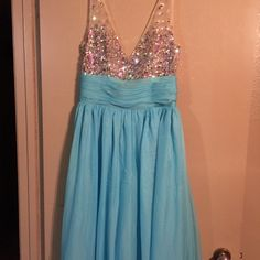 Prom dress Was bought originally for a bridesmaid dress, never worn wedding was postponed. Dresses Prom