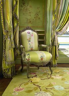 Chinoiserie painted panelling Palm Beach Chic With Scott Snyder, Inc.