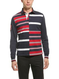 Colorblocked Rugby Shirt by Brooks Brothers
