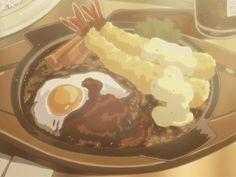 Tasty anime food