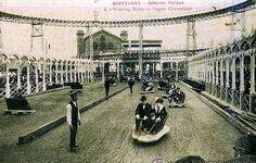 Coches eléctricos en el Saturno Park (1911-1926), Parc de la Ciutadella de Barcelona