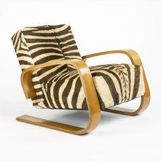 Alvar Aalto Tank lounge stoel