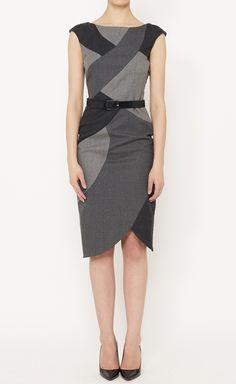L.A.M.B. Grey Dress