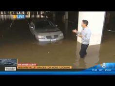 Man has bad day during El Niño storm in San Diego