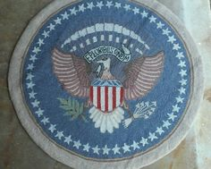 Hey, I found this really awesome Etsy listing at https://www.etsy.com/listing/253517995/round-rug-vintage-hooked-rug-american
