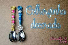 Colherzinha decorada [TUTORIAL] | Na ponta do lápis