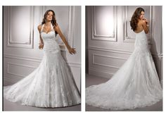 Wedding Blog: Convertible Wedding Dresses – New Categories  Love halter straps if you can't tell ;)